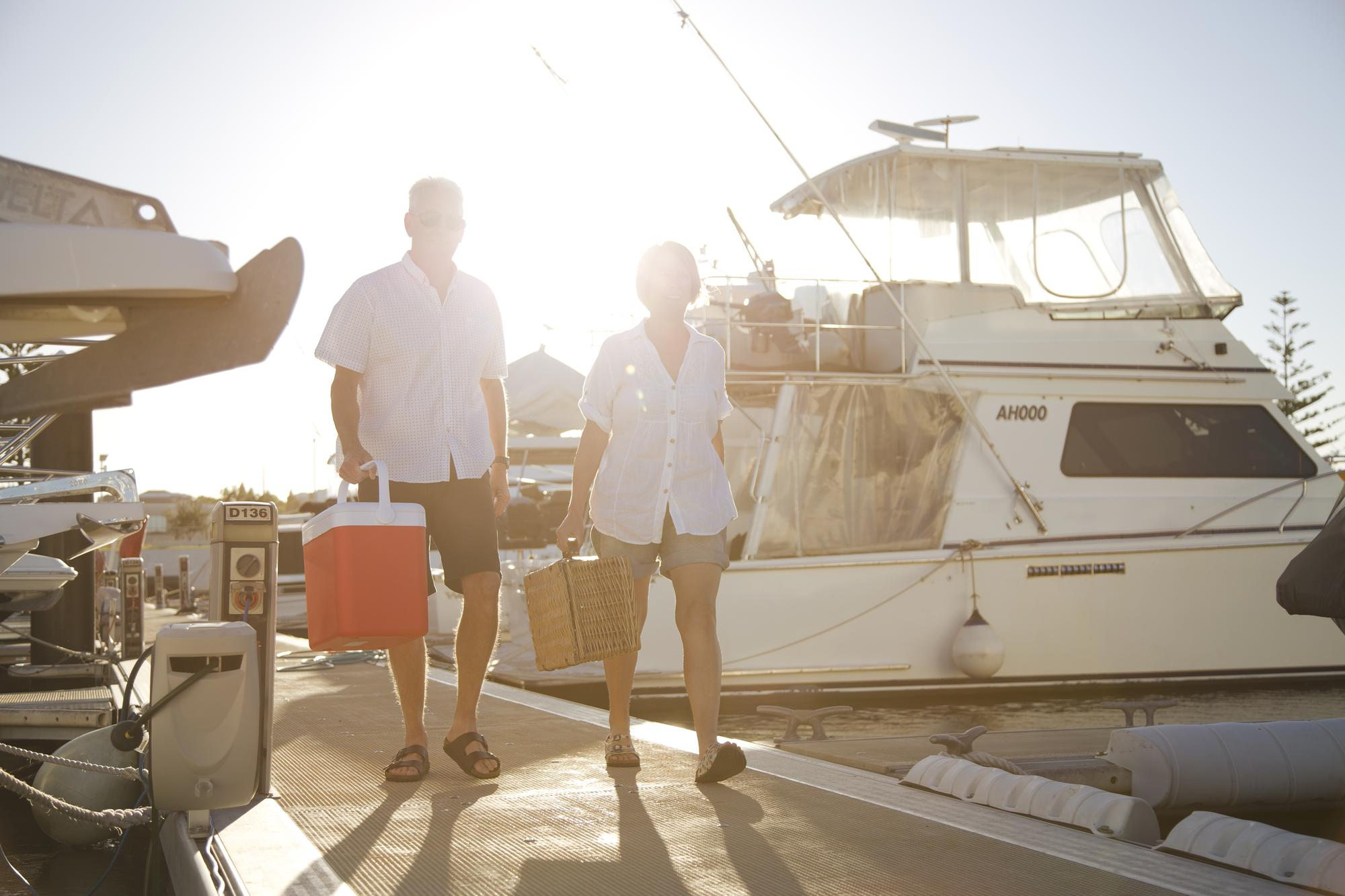 Live the coastal lifestyle at a world-class marina