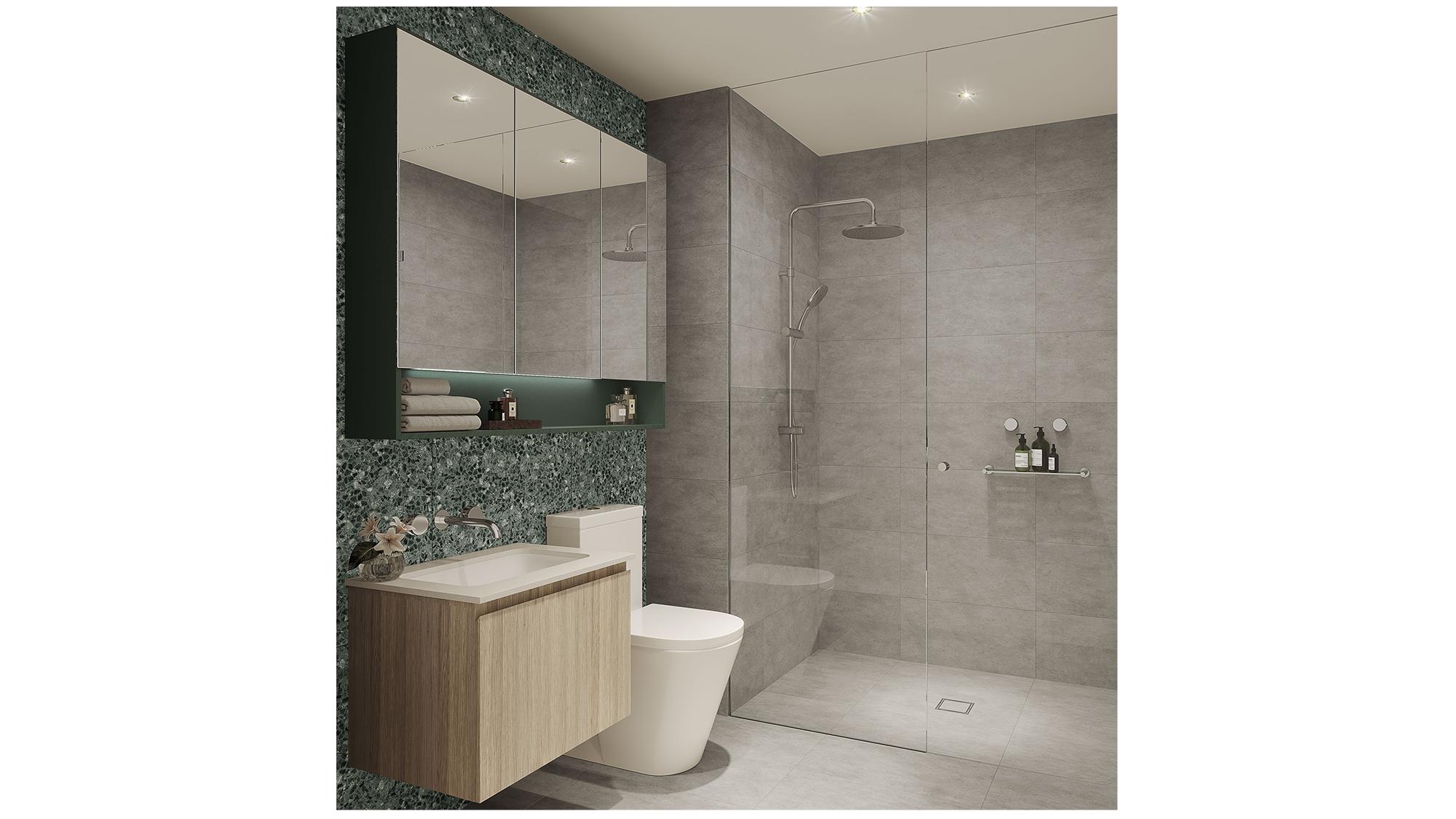 Bathroom spring scheme